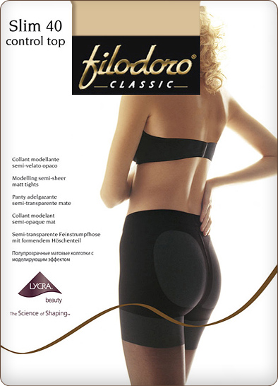 Колготки FILODORO Slim 40 Control Top