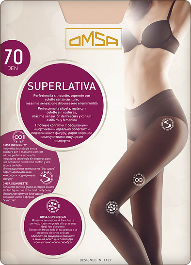 Колготки Omsa Superlativa 70