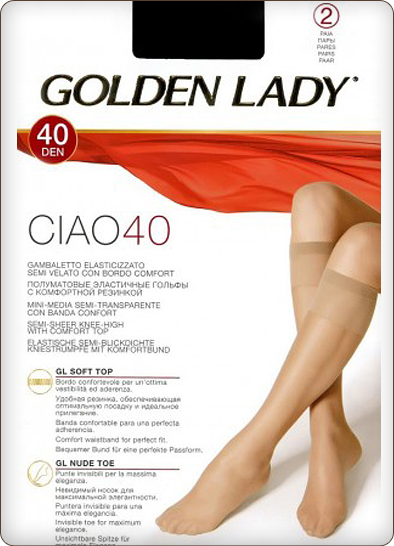 Гольфы Golden Lady Ciao 40 New