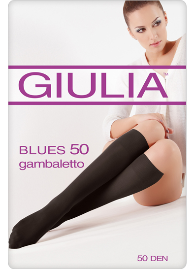 Гольфы Giulia BLUES 50 MICROFIBRA