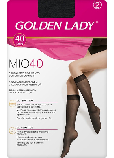 Гольфы Golden Lady MIO 40 ( 2 П.)